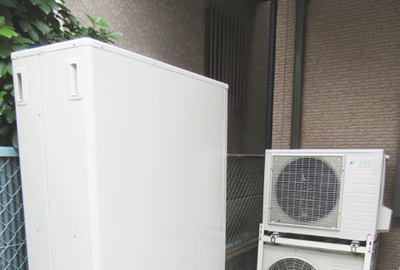 長州  HP-461DTZ ⇒ ダイキン EQ37TFTV